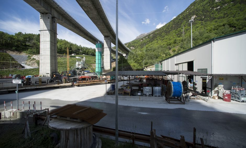 TELT Chiomonte Cantiere